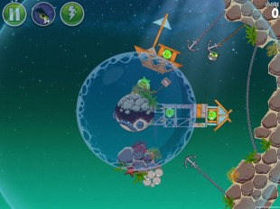 Angry Birds Space Pig Dipper Level 6-9 Walkthrough