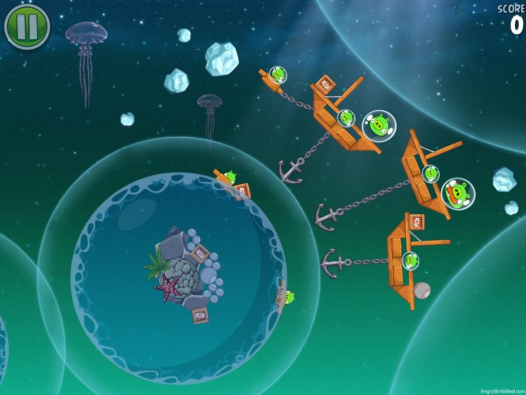 angry birds space pig dipper 6-20