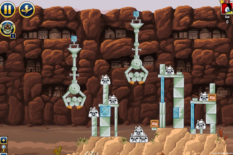 Angry birds star wars facebook tournament level 2 week 7 - Angry birds star wars 7 ...