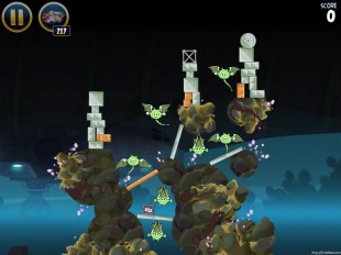Angry Birds Star Wars Hoth Level 3-34 Walkthrough
