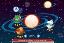 Angry Birds Tazos Red Solar System