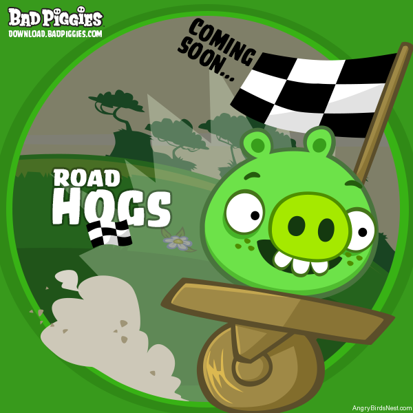 Bad Piggies Road Hogs Teaser Image