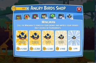 Angry Birds Friends The Wingman Bundles Screenshot
