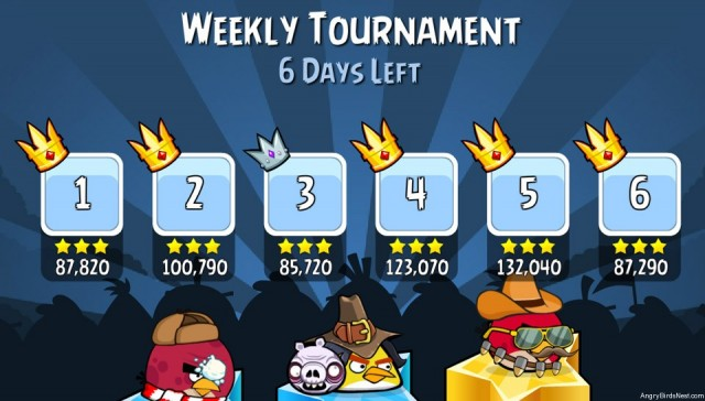 Angry Birds Friends The Wingman Update New Tournament Format