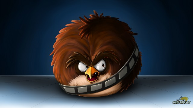 Exclusive Angry Birds Star Wars Wallpaper Set 1 Chewbacca Angrybirdsnest