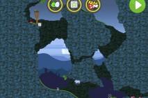 Bad Piggies Flight in the Night Level 4-25 Walkthrough