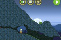 Bad Piggies Flight in the Night Level 4-29 Walkthrough