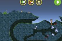 Bad Piggies Flight in the Night Level 4-34 Walkthrough
