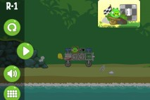Bad Piggies Road Hogs Level R-1 Walkthrough