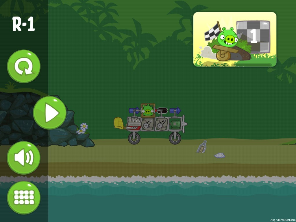 Bad Piggies Road Hogs Level R 1 Walkthrough Angrybirdsnest
