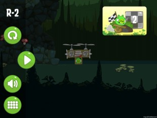 Bad Piggies Road Hogs Level R-2 Walkthrough