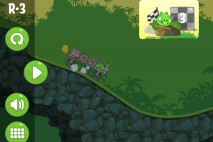 Bad Piggies Road Hogs Level R-3 Walkthrough
