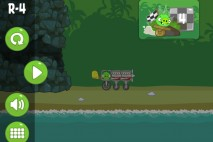 Bad Piggies Road Hogs Level R-4 Walkthrough