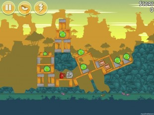 Angry Birds Bad Piggies Level 23-13 Walkthrough