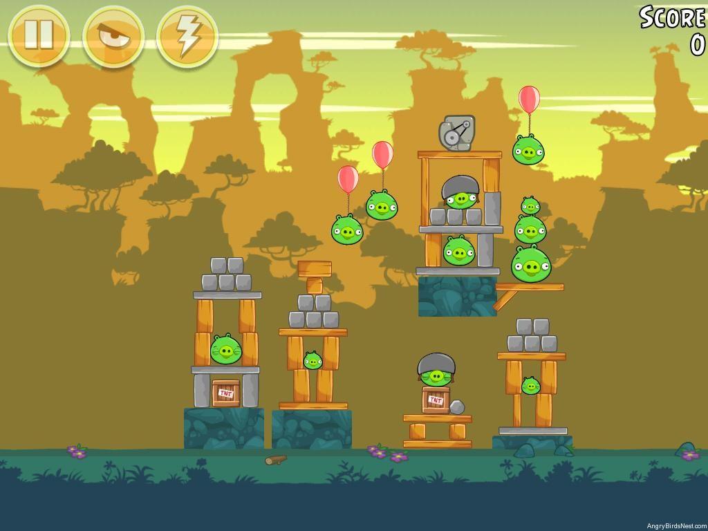 Angry Birds Bad Piggies Level 23 14 Walkthrough Angrybirdsnest