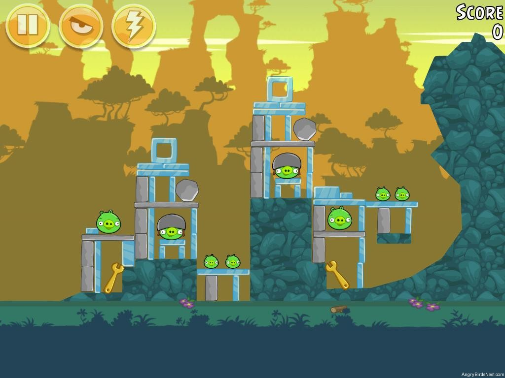 angry birds bad piggies level 2