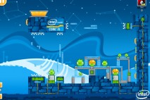 Angry Birds Intel Ultrabook Adventure Level 11 Walkthrough