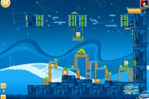 Angry Birds Intel Ultrabook Adventure Level 12 Walkthrough