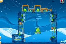 Angry Birds Intel Ultrabook Adventure Level 14 Walkthrough