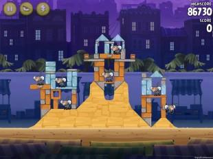 Angry Birds Rio Strawberry #9 Walkthrough Level 16 (14-1)