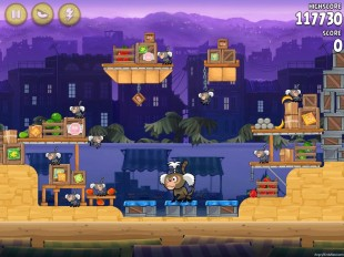 Angry Birds Rio Market Mayhem Walkthrough Level 30 (14-15)