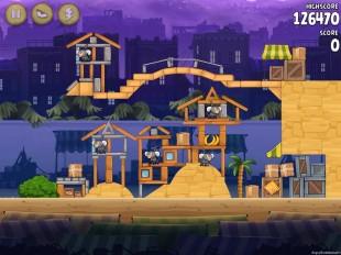Angry Birds Rio Market Mayhem Walkthrough Level 19 (14-4)