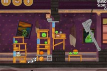 Angry Birds Seasons Haunted Hogs Bonus Level 3 Walkthrough