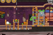 Angry Birds Seasons Haunted Hogs Bonus Level 4 Walkthrough