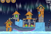 Angry Birds Seasons Winter Wonderham Bonus Level 1 Walkthrough