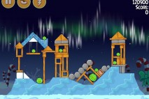 Angry Birds Seasons Winter Wonderham Bonus Level 2 Walkthrough