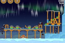Angry Birds Seasons Winter Wonderham Bonus Level 3 Walkthrough