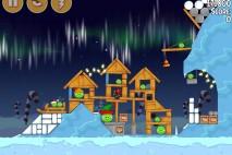 Angry Birds Seasons Winter Wonderham Bonus Level 4 Walkthrough