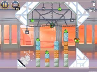 Angry Birds Star Wars Cloud City Level 4-19 Walkthrough