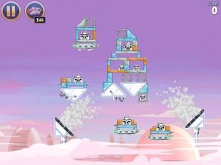 Angry Birds Star Wars Cloud City Level 4-3 Walkthrough