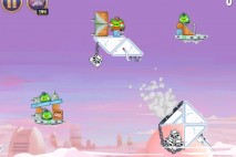 Angry Birds Star Wars Cloud City Level 4-4 Walkthrough