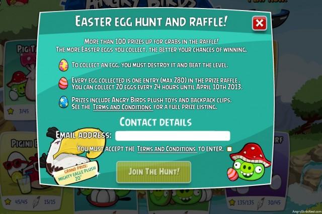 Pig Tale Egg Hunt Raffle