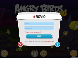 Login to Your Rovio Account