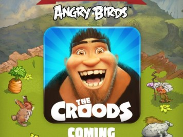 Rovio and DreamWorks The Croods App Teaser