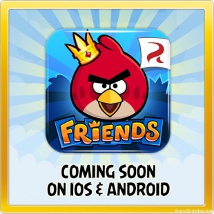 Angry Birds Friends App Logo
