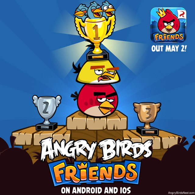 Angry Birds Friends Coming to iOS and Android on May 2nd