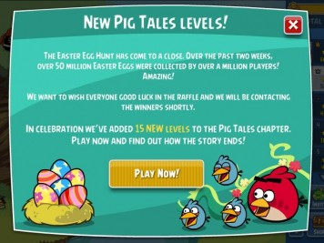 Angry Birds Friends End Raffle