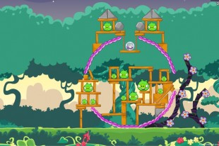 Angry Birds Facebook Pig Tales Level 24 Walkthrough