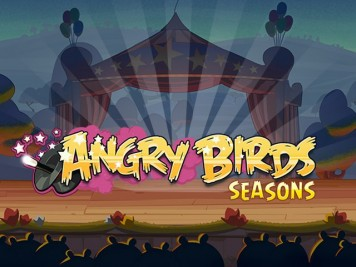 Angry Birds Seasons Circus Update Teaser