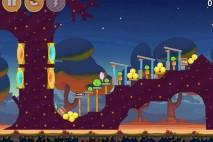 Angry Birds Seasons Abra-Ca-Bacon Level 1-1 Walkthrough