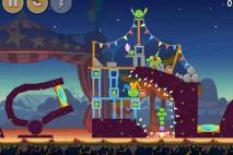 Angry Birds Seasons Abra-Ca-Bacon Level 1-2 Walkthrough