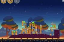 Angry Birds Seasons Abra-Ca-Bacon Bonus Level 2 Walkthrough