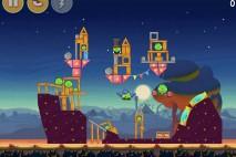 Angry Birds Seasons Abra-Ca-Bacon Bonus Level 3 Walkthrough