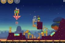 Angry Birds Seasons Abra-Ca-Bacon Bonus Level 4 Walkthrough