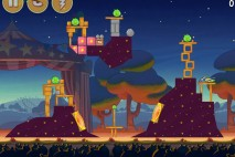 Angry Birds Seasons Abra-Ca-Bacon Level 1-14 Walkthrough