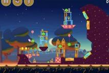 Angry Birds Seasons Abra-Ca-Bacon Level 1-5 Walkthrough